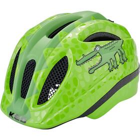 KED Meggy II Trend Kask rowerowy Dzieci, green croco